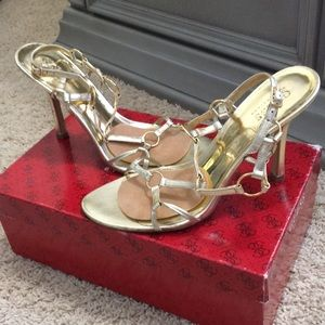 Guess by Marciano Shoes - Guess by Marciano Odom's/BGS- Open toe heel pumps